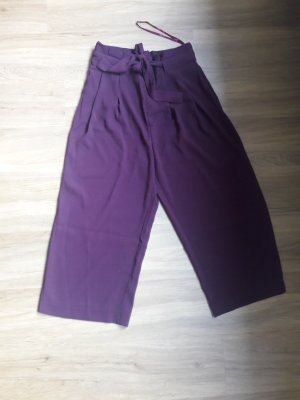 Second Female Pantalone culotte bordeaux