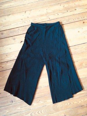 Zara Culottes black viscose