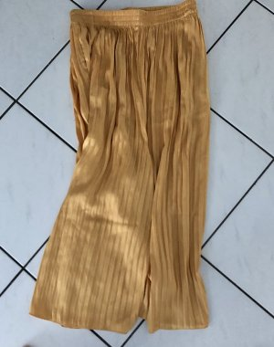 Zara Culotte orange doré