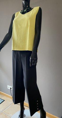 Nualy Falda pantalón de pernera ancha negro Poliéster