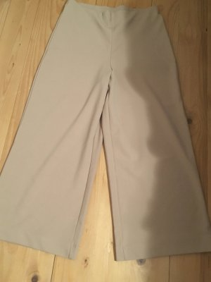 Hennes Collection by H&M Pantalone culotte beige chiaro