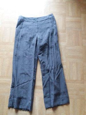 Sonja Marohn Pantalone culotte viola-grigio