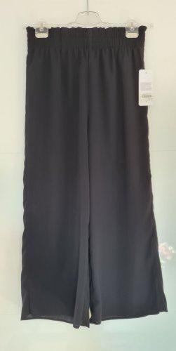 Culottes - Schwarz - neu - Highwaist - Größe 38 M