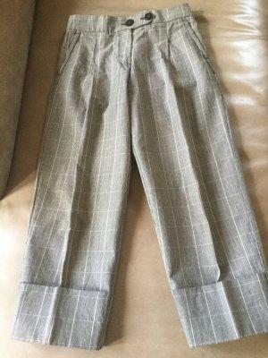Sportmax Pantalone culotte marrone-nero Cotone