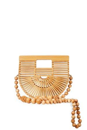 Cult Gaia Micro Gaia's Ark Crossbody Bag in Natural