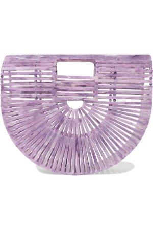 Cult Gaia Small Acrylic Ark Bag in Lavender