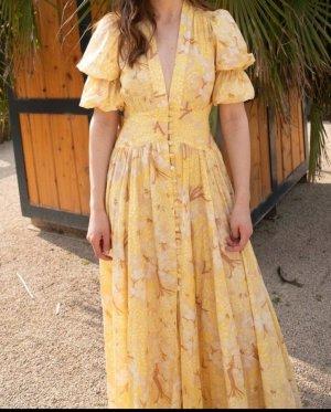 Cult Gaia Maxi Dress multicolored silk