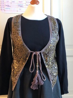 Culture Fringed Vest multicolored