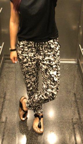 Culture Jersey Pants black-white