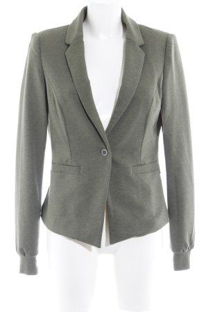 Culture Jersey Blazer khaki flecked casual look