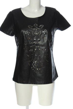 Culture Camicetta a maniche corte nero stile casual
