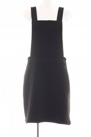 Culture Pinafore Overall Skirt black casual look