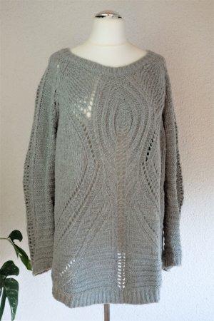 Culture Long Sweater light grey-grey