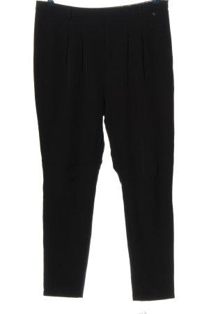 Culture Pantalone a pieghe nero stile casual