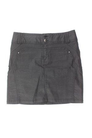 Culture Miniskirt black cotton
