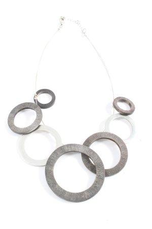 Culture Mix Collier nero-argento stile casual