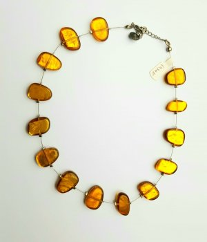 Culture Mix Halskette / Collier - Goldfarben - Neu