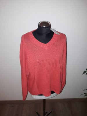 Culture Wool Sweater bright red-raspberry-red