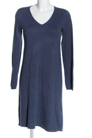Culture Abito maglione blu stile casual