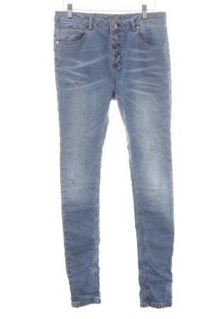 Culture Skinny Jeans kornblumenblau Casual-Look