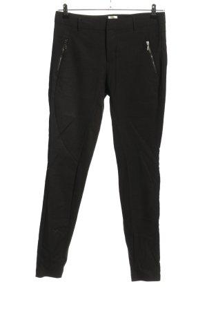 Culture Pantalone jersey nero stile casual