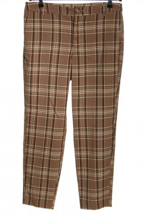 Culture Jersey Pants check pattern casual look