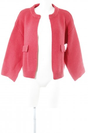Culture Knitted Cardigan pink classic style