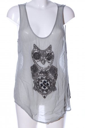 Culture Strappy Top light grey extravagant style