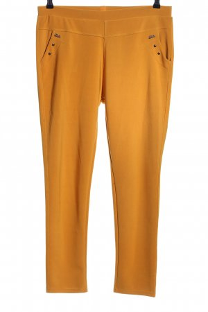 Stretchhose hellorange Casual-Look
