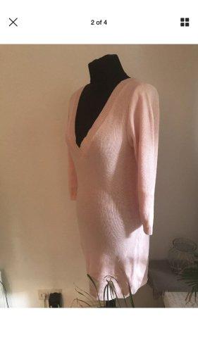 CUPIDO FASHION LUXURY NP €280 size L 38 40 Pink Retro Dress Kleid Sexy