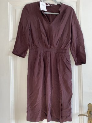 & other stories Robe chemisier rouge mûre-violet