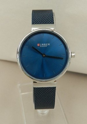 Analog Watch light grey-blue
