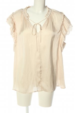 Current Air Kurzarm-Bluse creme Casual-Look