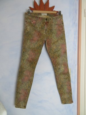 Current Elliot Jeans - Modell: Black Desert Python - The Ankle Skinny - Gr. 29 - Herbstfarben