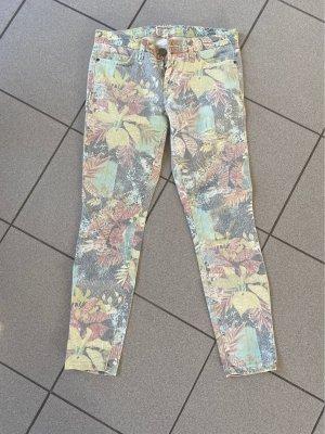 """Current Elliot Jeans """"The Stiletto"""" Gr. 26, Dschungeldesign"""