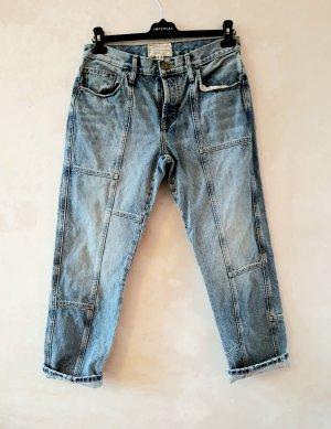 Current/elliott 7/8 Length Jeans light blue