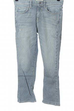 Current/elliott 7/8 Length Jeans blue-white allover print casual look