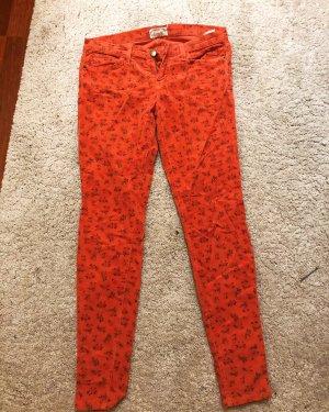 Current/elliott Pantalon en velours côtelé rouge