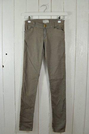 CURRENT ELLIOTT Damen Jeans Mod. THE LEGGING Charcoal Oliv Grau Gr. 27