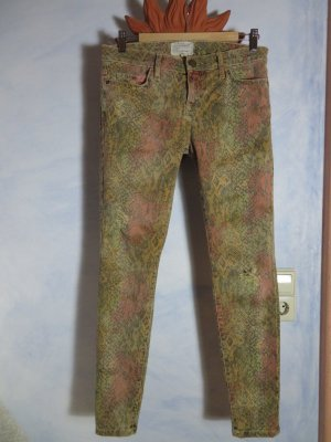 CURRENT ELLIOTT Distressed Jeans Modell: Black Desert Python Gr. 29 The Ankle Skinny Destroyed Look