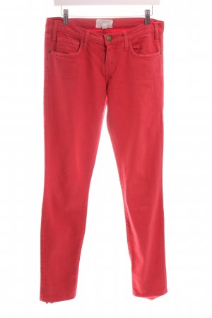 """Current/elliott Five-Pocket Trousers """"The Roller"""" bright red"""