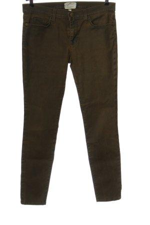 Current/elliott Jeans a vita alta marrone stile casual