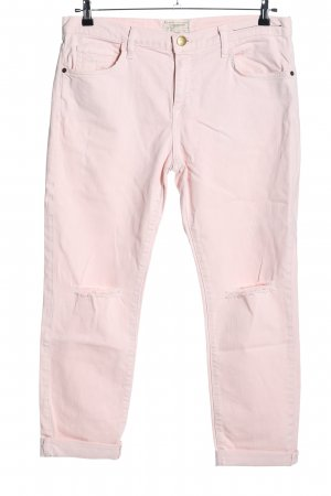 Current/elliott High Waist Jeans pink Casual-Look