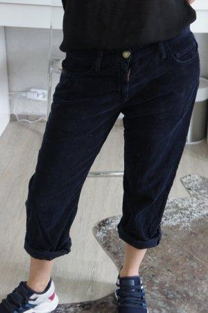 Current/elliott Boyfriend Trousers dark blue