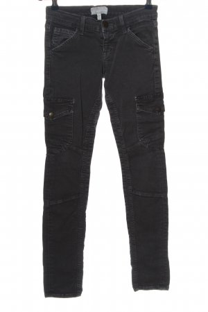 Current/elliott Low-Rise Trousers black casual look