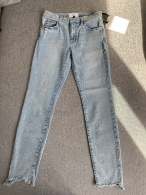 Current/elliott Hoge taille jeans azuur