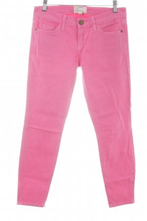 Current/elliott Drainpipe Trousers pink