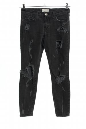 Current/elliott Skinny Jeans schwarz Casual-Look