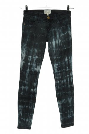 Current/elliott Skinny Jeans schwarz-hellgrau Casual-Look