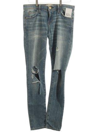 Current/elliott Skinny Jeans stahlblau